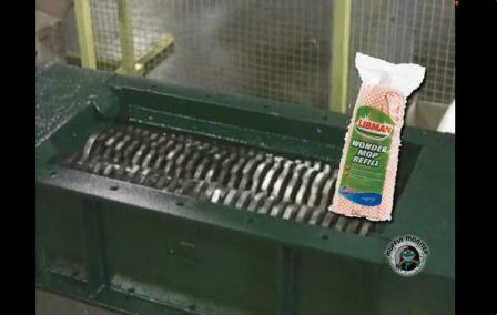 Flushable Wipes & Swiffer Grind Test